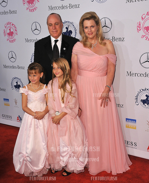 Nancy Davis & family at the 26th Carousel of Hope Gala at the Beverly Hilton Hotel..October 20, 2012  Beverly Hills, CA.Picture: Paul Smith / Featureflash