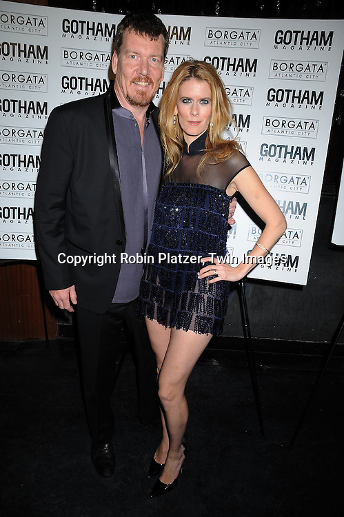Simon van Kempen and wife Alex McCord