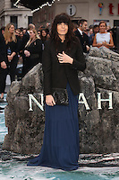 Claudia WInkleman at the Noah - UK film premiere held at the Odeon Leicester Square, London. 31/03/2014 Picture by: Henry Harris / Featureflash