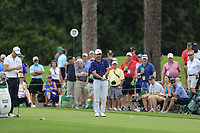 Trevor Immelman (RSA) on the 17th tee during the 2nd round at the The Masters , Augusta National, Augusta, Georgia, USA. 12/04/2019.<br /> Picture Fran Caffrey / Golffile.ie<br /> <br /> All photo usage must carry mandatory copyright credit (© Golffile | Fran Caffrey)