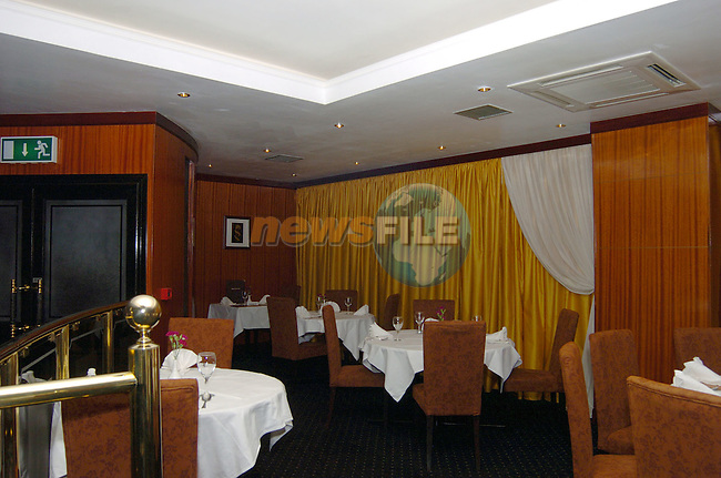 Interior of Chans restaurant Bettystown..Photo: Colin Bell / Newsfile