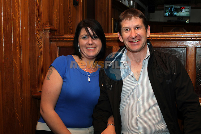 Sharon O'Brien and Paul Boylan in McPhails...(Photo credit should read Jenny Matthews/NEWSFILE)...