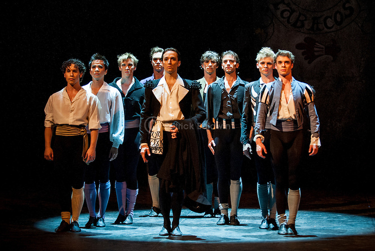 "English National Ballet. Roland Petit's ""Carmen"".."