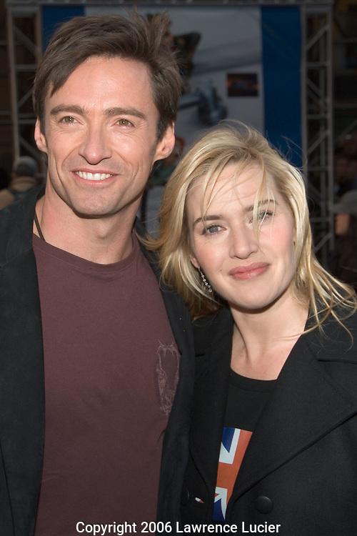 Hugh Jackman and Kate Winslet