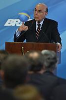 BRASÍLIA, DF, 26.06.2017 - TEMER-DF - O ministro da Fazenda Henrique Meirelles durante Cerimônia de Sanção da Lei que regulamenta a Diferenciação de Preço nesta segunda-feira, 26, no Palácio do Planalto. (Foto: Ricardo Botelho/Brazil Photo Press)
