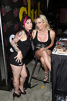 Joanna Angel, Stormy Daniels at Exxxotica, Broward County Convention Center, Fort Lauderdale, FL, Friday May 2, 2014.