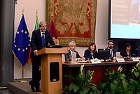 Roma, 28 Settembre 2017<br /> Paolo Gentiloni<br /> Primo giorno della Terza Conferenza Nazionale della Famiglia al Campidoglio