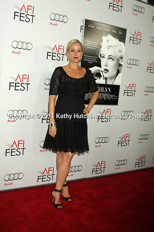 """LOS ANGELES - NOV 6:  Penelope Ann Miller arrives at the """"My Week with Marilyn"""" Screening at the AFI Fest 2011 at Grauman's Chinese Theater on November 6, 2011 in Los Angeles, CA"""