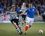 Graeme MacGregor and Rangers captain Lee McCulloch who has ditched the red and white armband