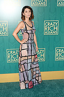 HOLLYWOOD, CA - AUGUST 7: Jing Lusi at the premiere of Crazy Rich Asians at the TCL Chinese Theater in Hollywood, California on August 7, 2018. <br /> CAP/MPI/DE<br /> &copy;DE//MPI/Capital Pictures