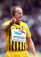 PICTURE BY VAUGHN RIDLEY/SWPIX.COM - Rugby League - Super League - Hull FC v Hull KR - KC Stadium, Hull, England - 06/04/12 - Referee Richard Silverwood.