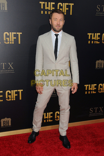 30 July 2015 - Los Angeles, California - Joel Edgerton. &quot;The Gift&quot; Los Angeles Premiere held at Regal Cinemas LA Live.  <br /> CAP/ADM/BP<br /> &copy;Byron Purvis/AdMedia/Capital Pictures