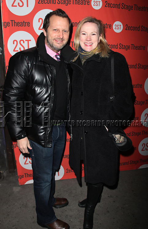 Rob Ashford & Kathleen Marshall.attending the Off-Broadway Opening of the Second Stage Theatre's  Mr. & Mrs. Fitch at the Second Stage Theatre in New York City..February 22, 2010.© Walter McBride /