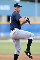 GCL Yankees Evan Rutckyj #41 during a game against the GCL Blue Jays at the Englebert Complex on June 23, 2011 in Dunedin, Florida.  The Blue Jays defeated the Yankees 3-2 in a rain shortened 8 inning game.  (Mike Janes/Four Seam Images)