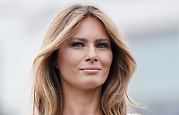 First Lady Melania Trump attends the Congressional Picnic on the South Lawn  of the White House in Washington, DC, on June 22, 2017. <br /> Credit: Olivier Douliery - Pool via CNP /MediaPunch