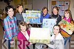 Artist Tina Reid with her art class who are painting famous masterpieces in the KDYS Killarney on Tuesday evening front row l-r: Mary O'Sullivan Rathmore, Tara O'Connor Killarney. Back row: Maire Murphy, Siobhian Curtin, Mary Lynch, Tina Reid all Killarney and Sharon McCarthy Kenmare