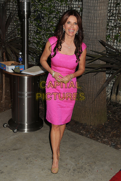 Roma Downey.Annual Geffen Playhouse Fundraiser 2013 held at the Geffen Playhouse, Westwood, California, USA..May 13th, 2013.full length pink dress .CAP/ADM/BP.©Byron Purvis/AdMedia/Capital Pictures