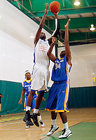 April 9, 2011 - Hampton, VA. USA;  Henry Uwadlae coaches during the 2011 Elite Youth Basketball League at the Boo Williams Sports Complex. Photo/Andrew Shurtleff