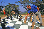 Guests Playing Chess At Ku Chawe Inn
