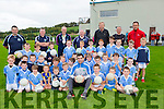 Kerry footballer visited the Firies u8 football academy in Farranfore on Friday evening