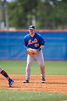 New York Mets Matt Oberste (81) during a Minor League Spring Training intrasquad game on March 29, 2018 at the First Data Field Complex in St. Lucie, Florida.  (Mike Janes/Four Seam Images)