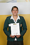 Aroha Savage, The Manurewa High School, All Rounder - Rugby, Athletics, Waka Arna. ASB College Sport Young Sportsperson of the Year Awards 2006, held at Eden Park on Thursday 16th of November 2006.<br />