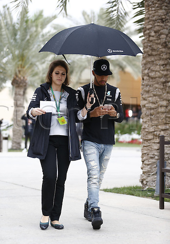 31.03.2016. Bahrain.  FIA Formula One World Championship  2016, Grand Prix of Bahrain, 44 Lewis Hamilton (GBR, Mercedes AMG Petronas Formula One Team)