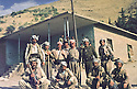 Iraq 1983 <br /> July in Haj Omran, standing in the middle Mohammed Saleh Goma, on his left Mullazem Ali and peshmergas   <br /> Irak 1983  <br /> Juillet a Haj Omran, debout au centre, Mohammed Saleh Goma et a sa gauche Mullazem Ali avec des peshmergas.