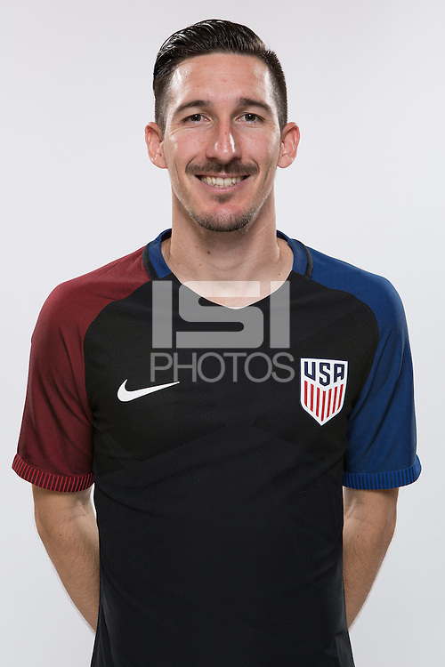 Miami, FL. - October 4, 2016: The U.S. Men's National team portraits.