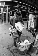 "New York City, NY, June 13th, 1971. The New York Times published the ""Pentagon Papers"". It was a rush, the newspaper had to print many editions to satisfy the incredible demand."