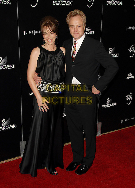 JANE KACZMAREK & BRAD WHITFORD.Attends The 9th Annual Costume Designers Guild Awards Gala held at The Beverly Wilshire Hotel in Beverly Hills, California, USA, February 17 2007..full length.CAP/DVS.©Debbie VanStory/Capital Pictures