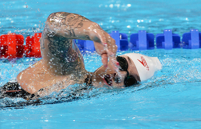 Krystal Shaw competes in the para swimming  at the 2019 ParaPan American Games in Lima, Peru-27aug2019-Photo Scott Grant