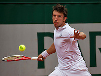 Paris, France, 22 june, 2016, Tennis, Roland Garros, Igor Sijsling (NED) wins first round match<br /> Photo: Henk Koster/tennisimages.com