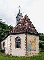 spätgotische Kapelle Amorsbrinn von 1521 in Amorbach im Odenwald, Bayern, Deutschland