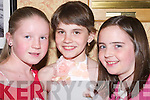 SMILES: Smiles by Rosie Wheeler (Tralee), Jenny Azakreuskaya (Belarus) and Laura Dempsey (Tralee), at the Adi Roche Chernobyl Childrens Project Mid-Summer Ball at The Meadowlands Hotel, Tralee, on Saturday evening..