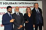 XIV Sopar Solidari de Nadal.<br /> Esport Solidari Internacional-ESI.<br /> Gerard Esteva, Josep Maldonado, Maria Lluis &amp; Joan Fa.