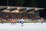Bolln&auml;s 2013-10-25 Bandy Elitserien Bolln&auml;s GIF - Edsbyns IF :  <br /> Bolln&auml;s publik supportrar p&aring; huvudl&auml;ktaren p&aring; S&auml;vsta&aring;s IP under matchen<br /> (Foto: Kenta J&ouml;nsson) Nyckelord:  supporter fans publik supporters