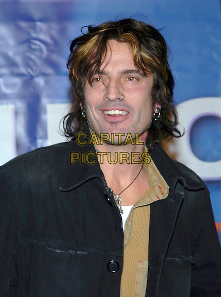TOMMY LEE.2005 NBC Winter TCA All-Star Party held at the Hard Rock Cafe, Universal City, California, USA, .21 January 2005..portrait headshot nose ring piercing pierced.Ref: ADM.www.capitalpictures.com.sales@capitalpictures.com.©JWong/AdMedia/Capital Pictures .