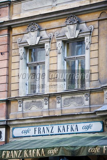 Europe/République Tchèque/Prague: Le Café Franz Kafka