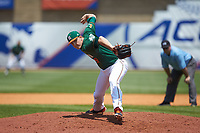 Miami Hurricanes relief pitcher Cooper Hammond (39) in action against the Wake Forest Demon Deacons in Game Nine of the 2017 ACC Baseball Championship at Louisville Slugger Field on May 26, 2017 in Louisville, Kentucky. The Hurricanes defeated the Demon Deacons 5-2. (Brian Westerholt/Four Seam Images)