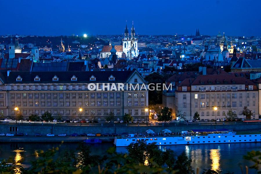 Cidade de Praga. Republica Tcheca. 2008. Foto de Cris Berger.
