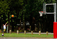 YMCA resident Camp Thunderbird, operating since 1936, is one of several YMCA camps located in the Carolinas. The 100-acre camp is located about 20 minutes from downtown Charlotte, North Carolina. In addition to the camp's extensive water program, campers are able to choose from a wide variety of sports, including football, basketball, skateboarding, ropes courses, high adventure and more.<br /> <br /> Photo by: PatrickSchneiderPhoto.com