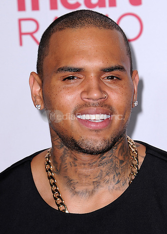 LAS VEGAS, NV - SEPTEMBER 19:  Chris Brown at the 2014 iHeartRadio Music Festival at the MGM Grand Garden Arena on September 19, 2014 in Las Vegas, Nevada. PGSK/MediaPunch