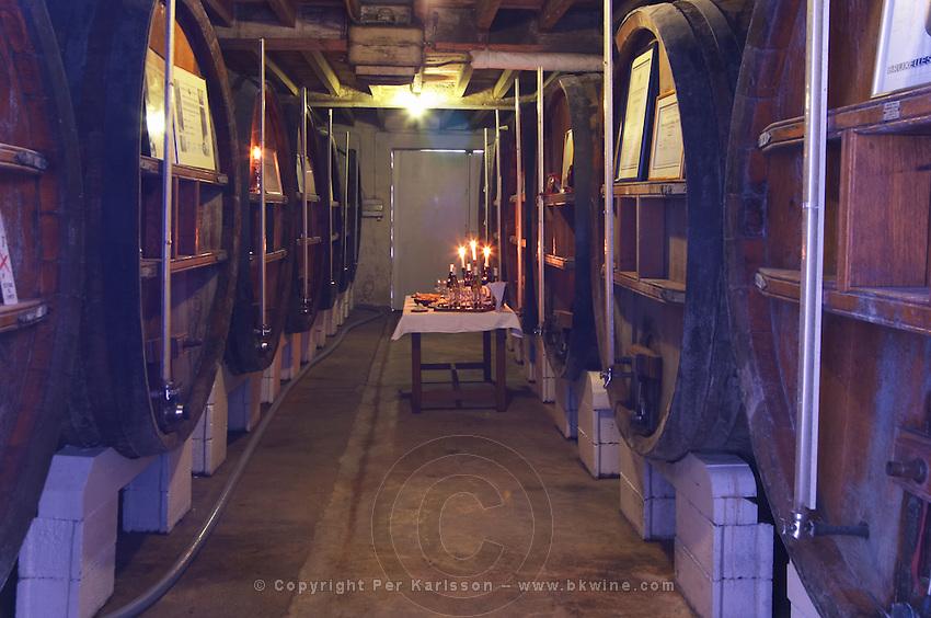 Fermentation vats. Domaine Henry Natter, Montigny, Sancerre, Loire, France