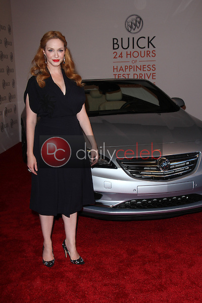 Christina Hendricks<br /> at the 24 Hour Buick Happiness Test Drive Collaborators Event, Ace Museum, Los Angeles, CA 07-22-15<br /> David Edwards/DailyCeleb.Com 818-249-4998