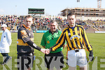 Dr.Crokes who were dedeated by Crossmaglen Rovers 1-5 to 0-13  await the start of their AIB All Ireland Senior Football Championship Final replay in Portlaoise on Sunday.