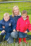 FANS: Rory, Mary and Daniel King, Milltown, at the Caherciveen races on Sunday.  .