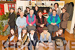 FUN DAY: Pupils from Curranes National School who won the Novelty Act at the Kerry Scor na bPastai visited Castleisland Day Care Centre on Thursday to entertain a group from Cordal..Front L/r. Laura Sheehan, Shane Browne, Art O'Mahony, Conor O'Shea, Ann Marie O'Connor..Middle row L/r. Moria Reidy, Maura Horan, Kathleen Nolan, Agnes Twomey..Back L/r. Conor Nolan, Michelle O'Connor, Victoria Cotter, Jessica Healy, Mrs. Cait Daly, Katie Lynch and Eathen O'Connor.   Copyright Kerry's Eye 2008