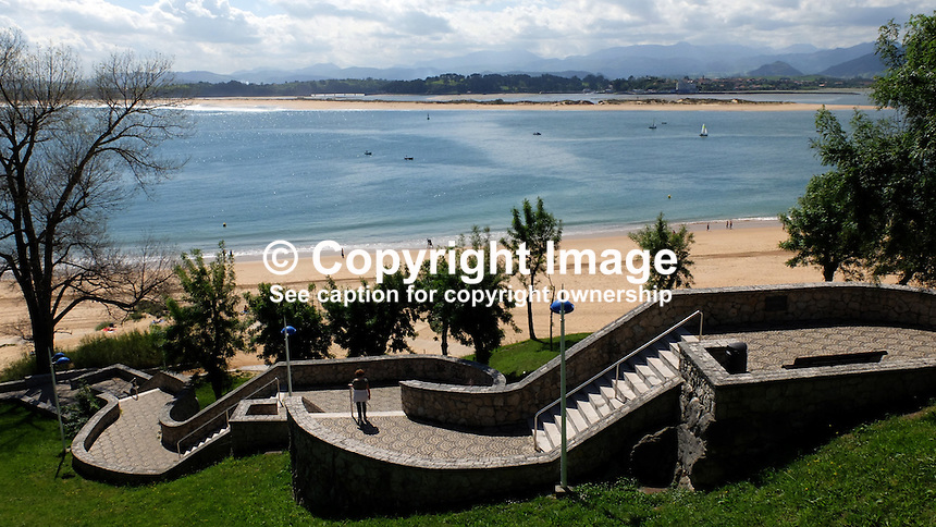 Beach, El Sardinero, Santander, Spain, May, 2015, 201505060751<br />