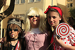 Israel, Herzliya, Noam Isachar and friends celebrating Purim
